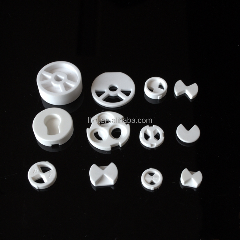 High Temperature Resistant Customized component Alumina Ceramic Tube Sleeve Bushing for Furnace