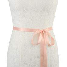 TOPQUEEN роскошный свадебный пояс женский пояс элегантная женская одежда аксессуары платье подружки невесты пояс роскошный женский пояс S161BL(China)
