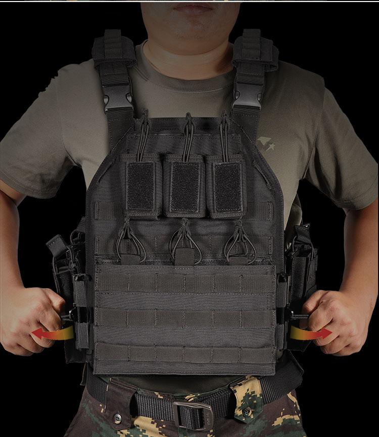 YAKEDA страйкбол полевой спецназ полиция анти пуленепробиваемая пластина боевой штурм военное снаряжение переносчик тактический жилет халко Тактический