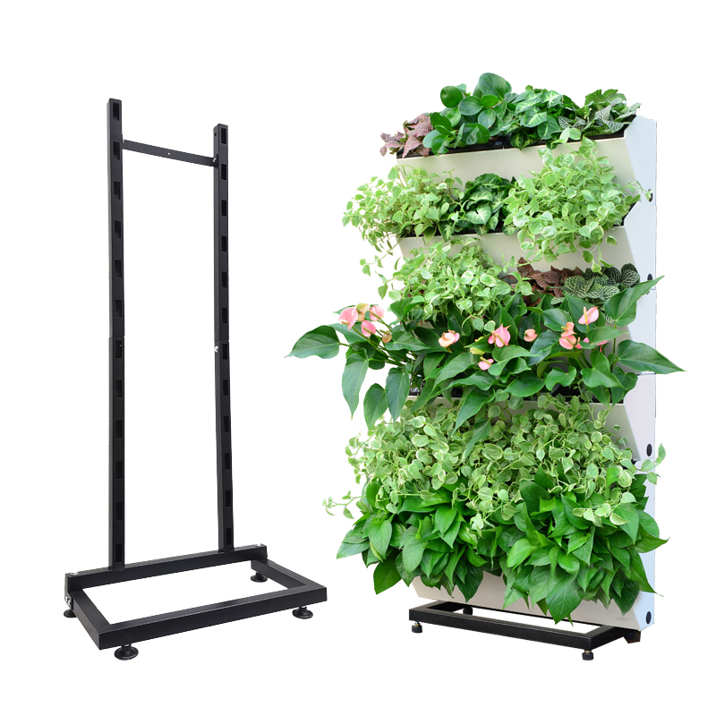 Vertical garden wall planter with water indicator/living wall,green wall,Plastic Self Watering Vertical Garden Green Wall System
