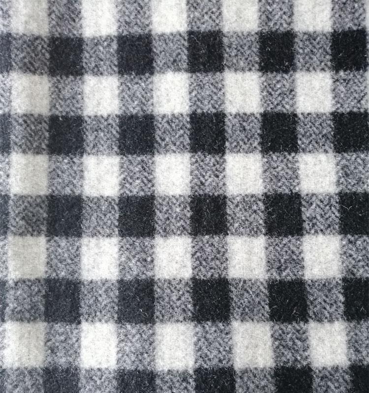 Китай поставщиков товаров предоставляет покупки оптом 100% шерстяная ткань в клетку для пальто