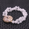 crackle crystal with weathered agate