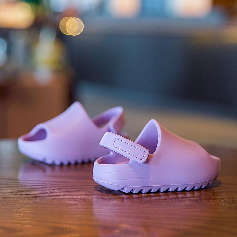 2021 EVA детские тапочки летние пляжные модные EVA Сандалии детские тапочки Yeezy