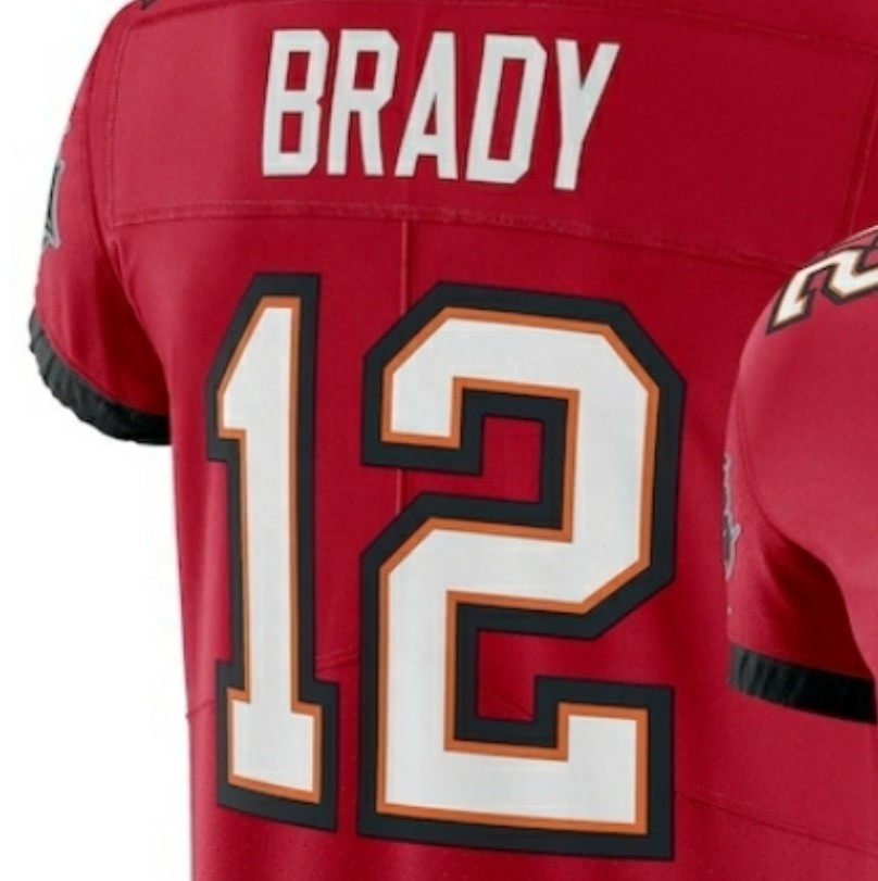 Tom Brady Red 2020 New Best Quality Stitched American Football ...