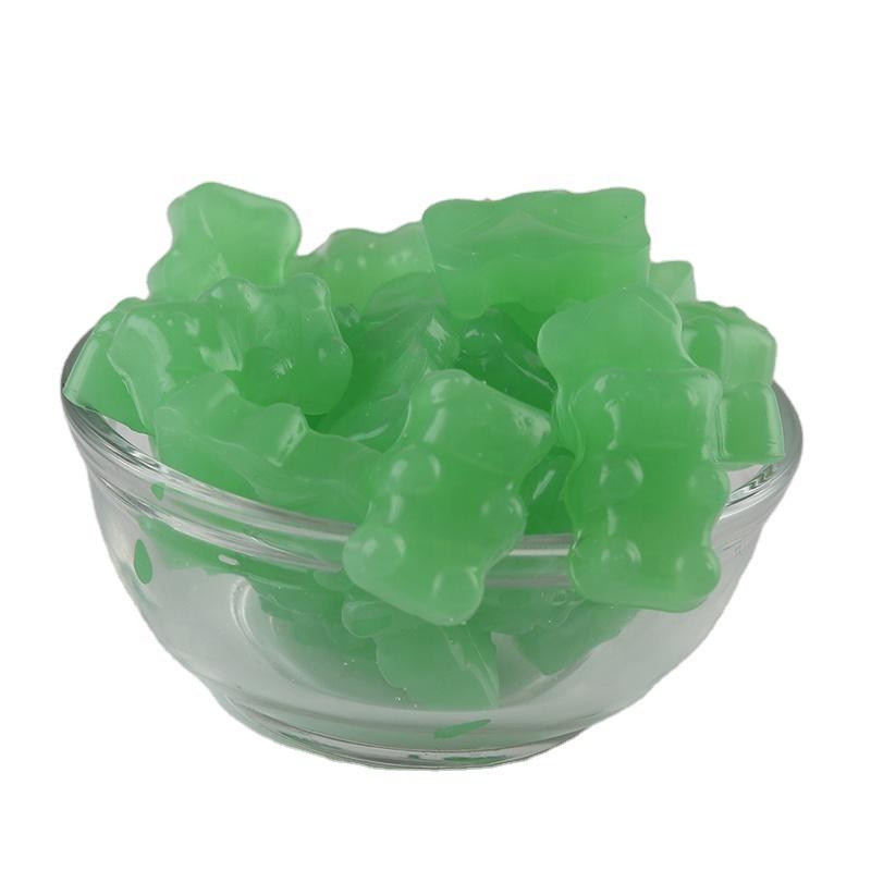 OEM/ODM зеленый здоровый клубничный аромат Витамин биотин волосы для наращивания кожи ногтей жевательные резинки