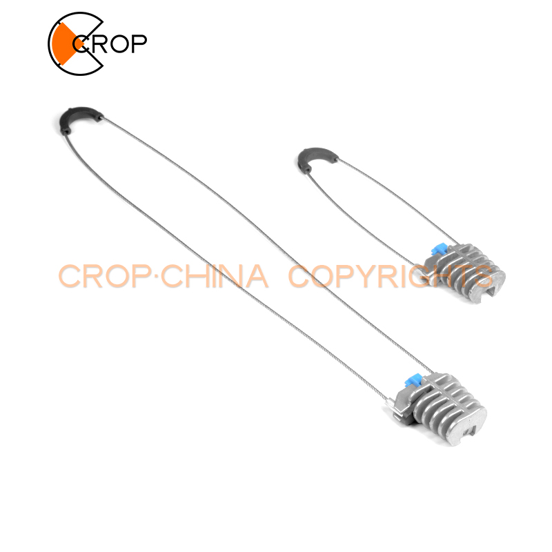 Силовая линия, фитинг серии PA, алюминиевый анкерный зажим типа Клин высокого напряжения для оптоволоконных кабелей