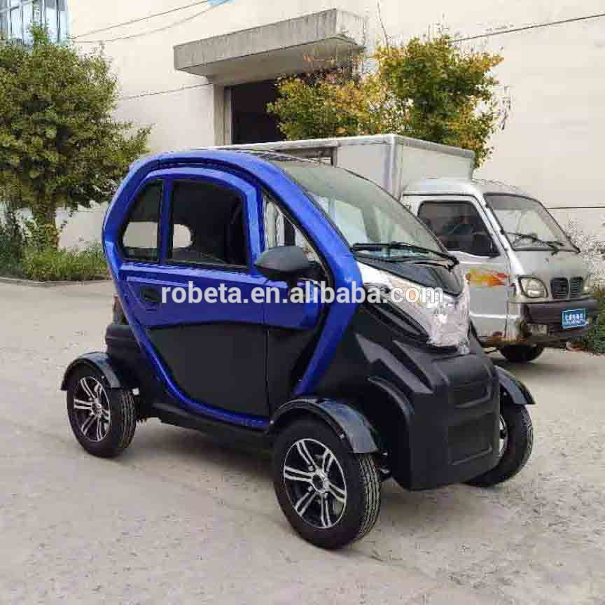 New Low Price 100 Km H Electric Car Eec Lithium Automobile One Person Electric Car for Family