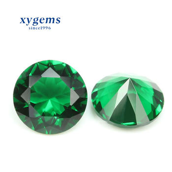wholesale China suppliers price per carat piedras semipreciosas crystal healing stones jewelry material emerald loose glass gems