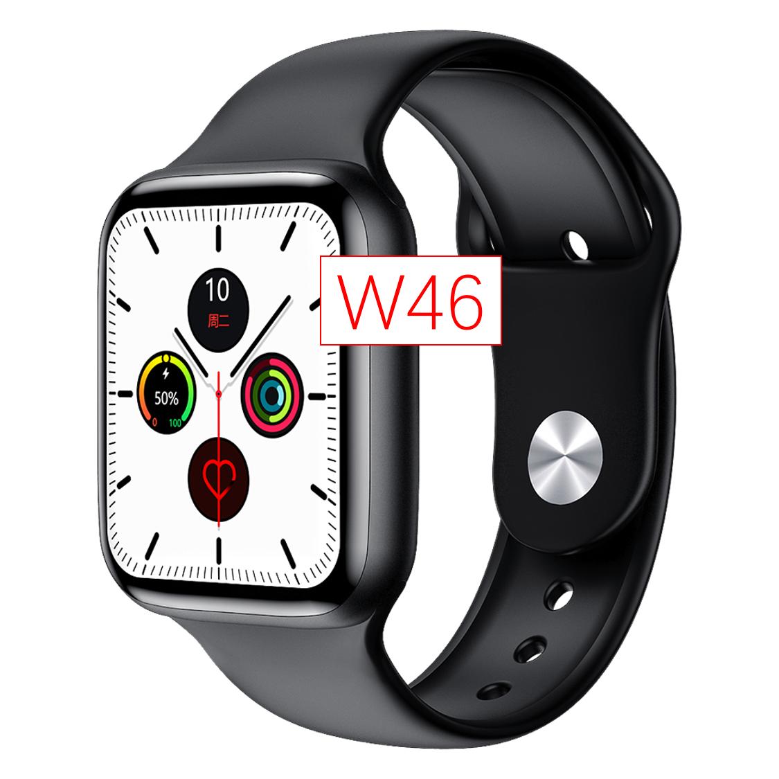 2021 новые оригинальные умные часы 1,75 дюймов экран IP68 водонепроницаемый монитор сердечного ритма ЭКГ Смарт часы Iwo W46
