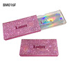 BM016F pink holographic card