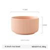4.5inch pink rice bowl