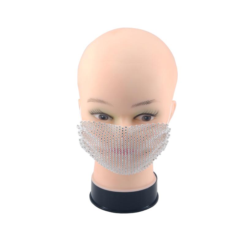 Бриллиантовая форма, новый стиль, мода 2021, низкая цена, Прямая поставка с завода, яркая маска для лица, удобная пользовательская маска для лица