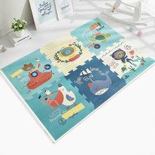 BabyGo детский коврик для ползания утолщенный 2 см безвкусный XPE пенопласт 6 шт игровой коврик Детская гостиная мультфильм нескользящий коврик ...(Китай)