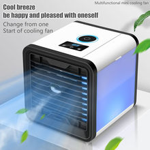 Мини Портативный Кондиционер USB мини-охладитель воздуха для очистки и увлажнения воздуха Охлаждающий вентилятор # z(Китай)