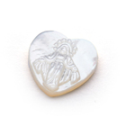 Shell Shell Jewelry Religion MOP Heart Beads Shape Shell Pearl Mother Of Pearl Shell Beads For DIY Jewelry