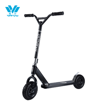 Adult kick scooter with 200mm big wheel dirt scooter