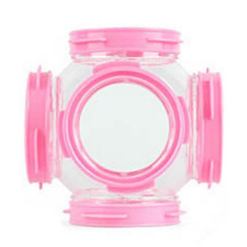 Игрушка хомяк труба акриловая прозрачная трубка хомяк игрушки маленькие животные Клетка для хомяков трубка игрушка 1 шт(Китай)