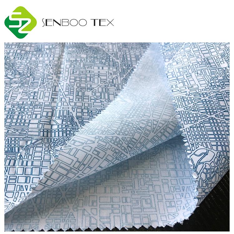 Сертификат 133 г/м2x72 органический хлопок, поплин, ткань, геометрический рисунок, печатный цифровой