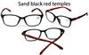 Sand black red temples