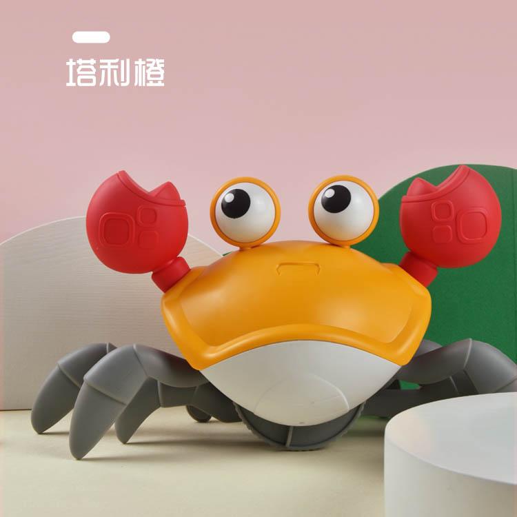 Новый милый мультяшный ходячий краб, детские пляжные игрушки, плавательный бассейн, Игрушки для ванны