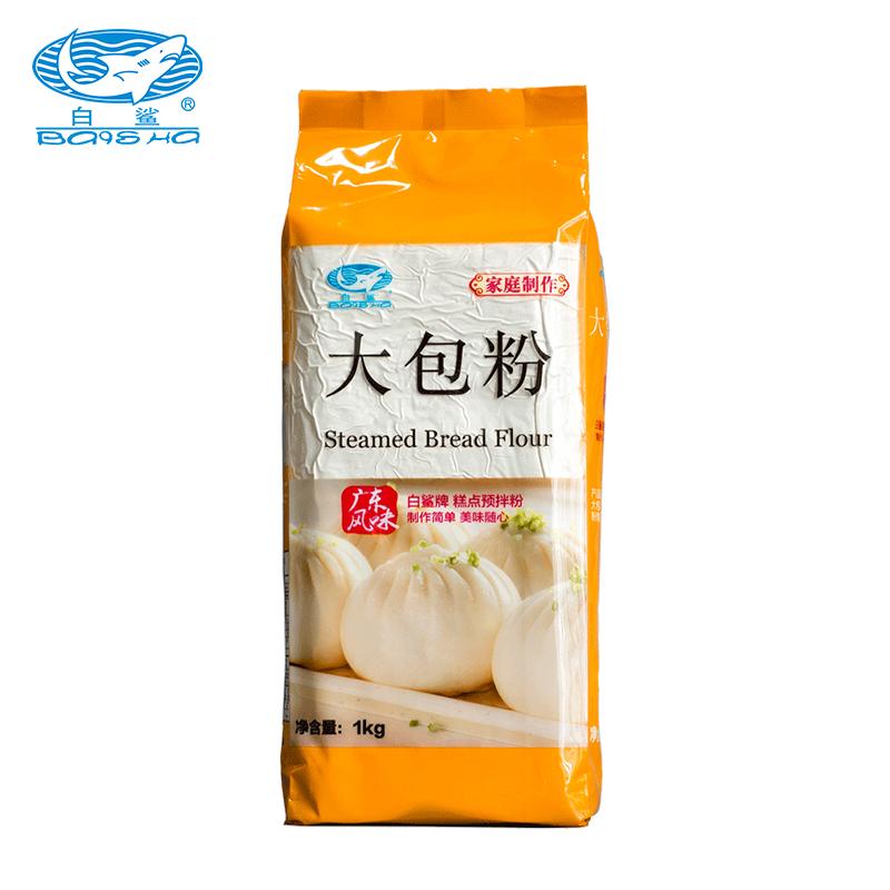 Household low-gluten wheat flour (including yeast powder) big bun flour 1kg * 10