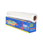 Plastic Wrap China Soft Plastic Wrap PVC Cling Transparent Film For Food Grade