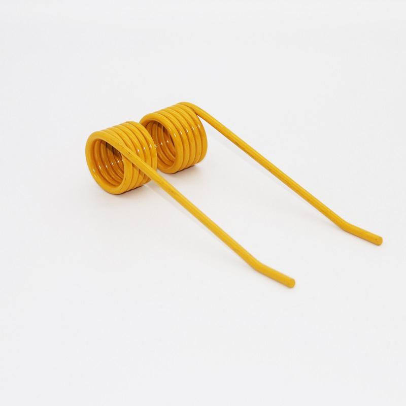 China wholesale OEM custom color torsion spring tine with powder coating