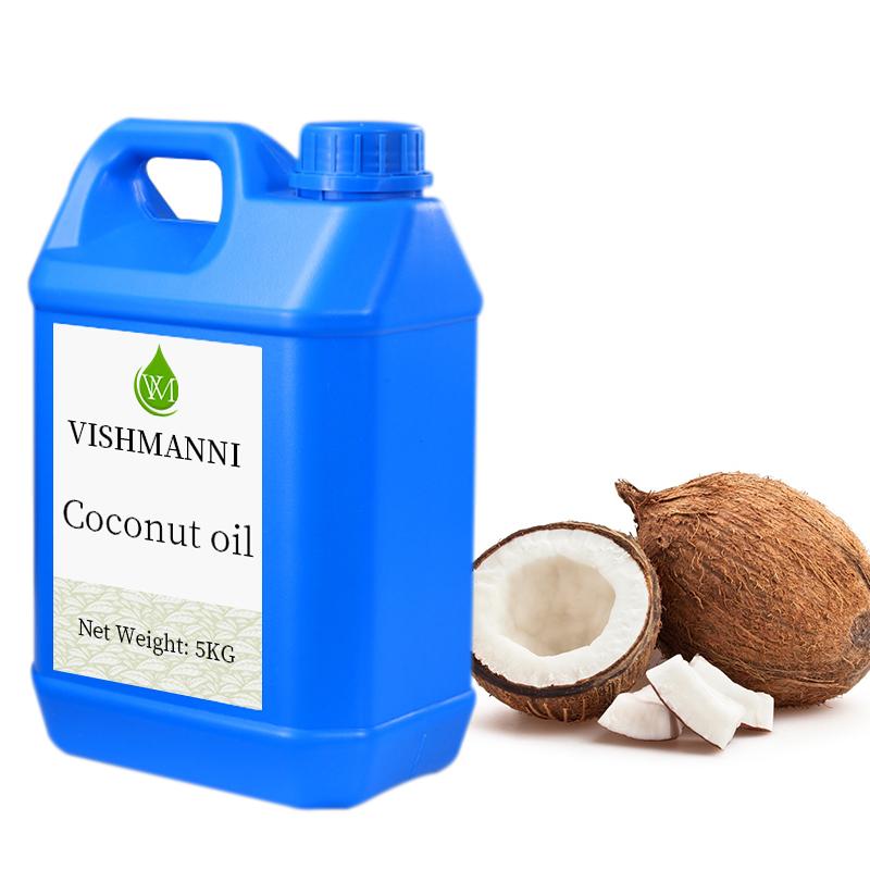 Горячая Распродажа, кокосовое масло холодного прессования для ухода за кожей оптом