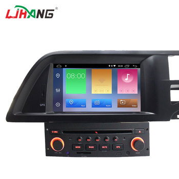 LJHANG android system car stereo for citroen c5 car audio system with gps navigation 2G 16GB music player