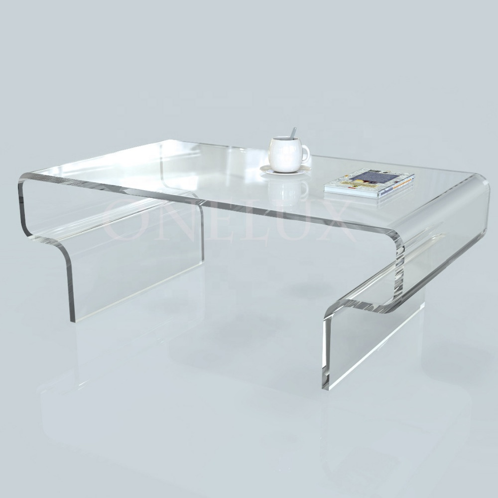 Wholesale Clear Transparent Acrylic Coffee Table Lucite Living Room Tables Buy Acrylic Clear Coffee Table Acrylic Luxury Tv Table Center Table Design Lucite Living Room Furniture Product On Alibaba Com