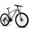 Orange mountainbike
