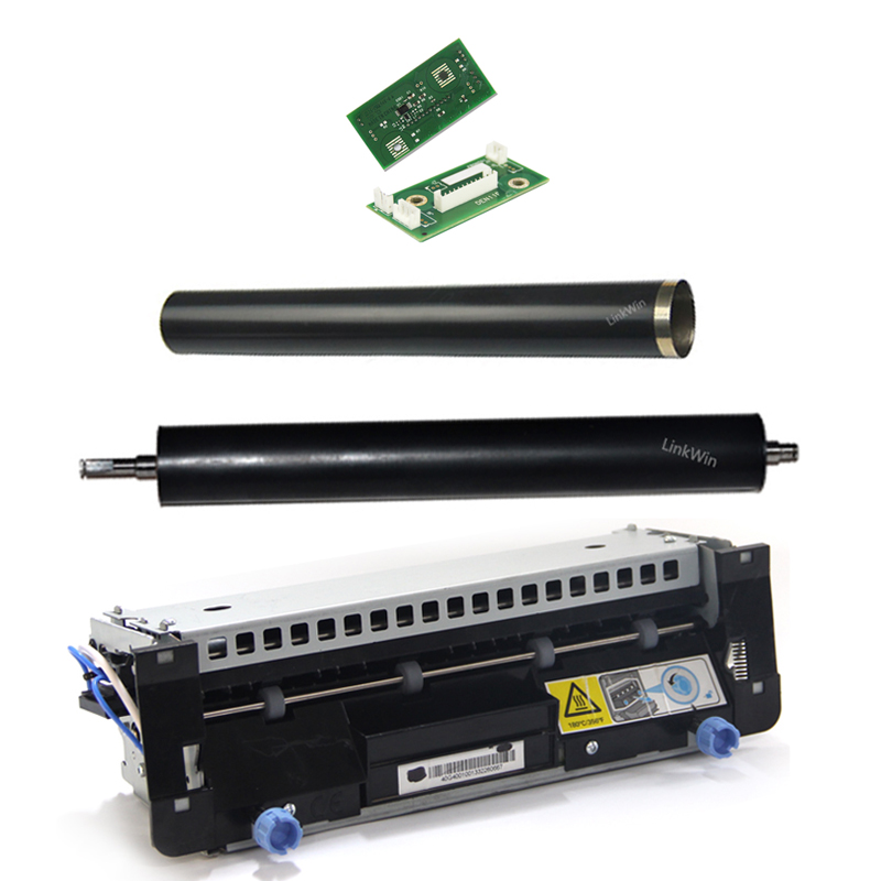 Compatible For Lexmark Printer supplies accessories fuser unit Fixing roller Fixing film chips