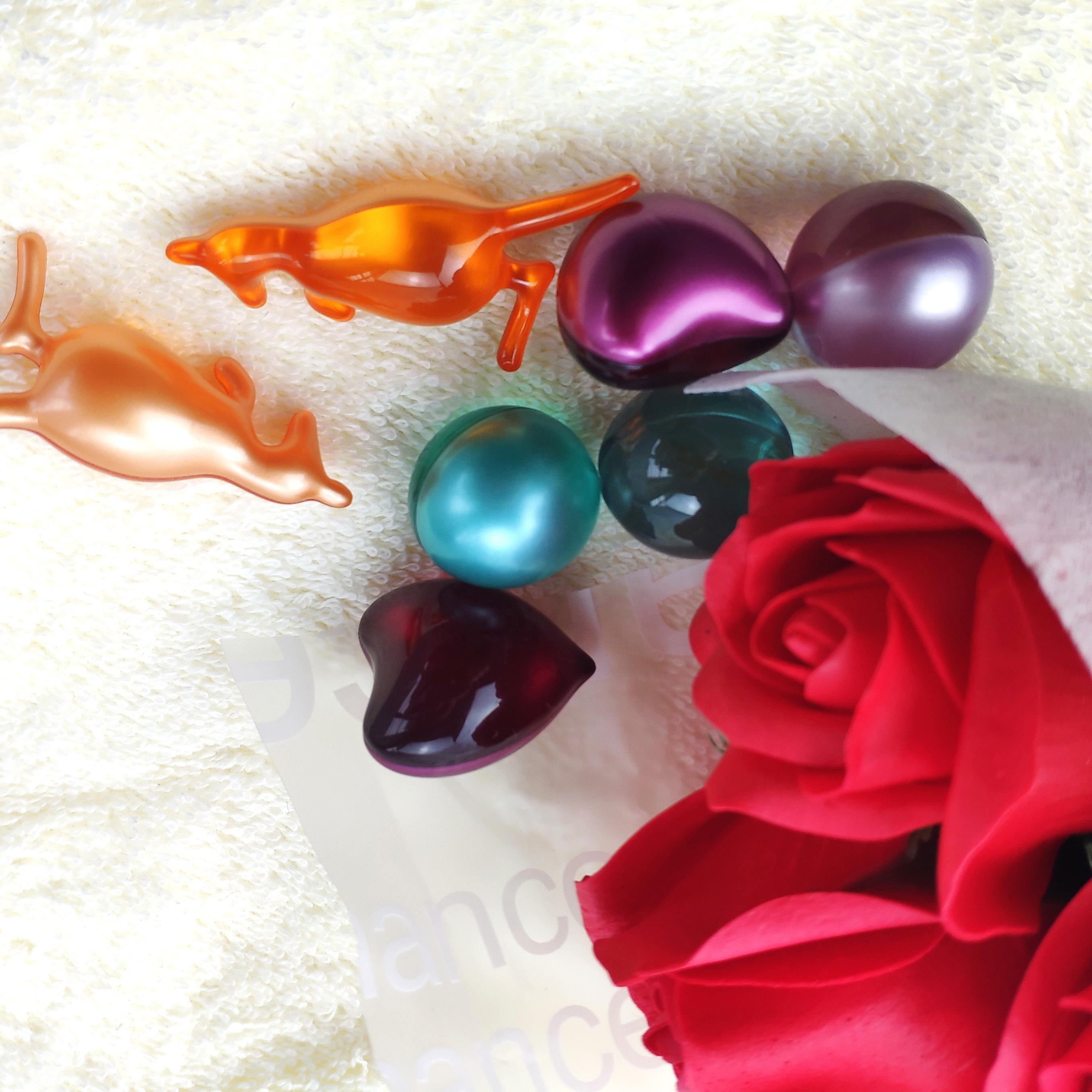 unique shaped cheap wholesale bath oil beads
