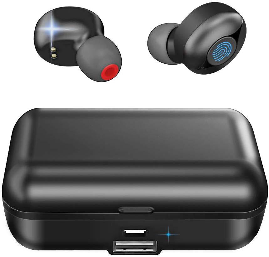 True Wireless Earbuds,Bluetooth 5.0 Headphones 60H Playtime IPX5 Waterproof Deep Bass Stereo Sound with Mic,Sport Earphones - idealBuds Earphone | idealBuds.net