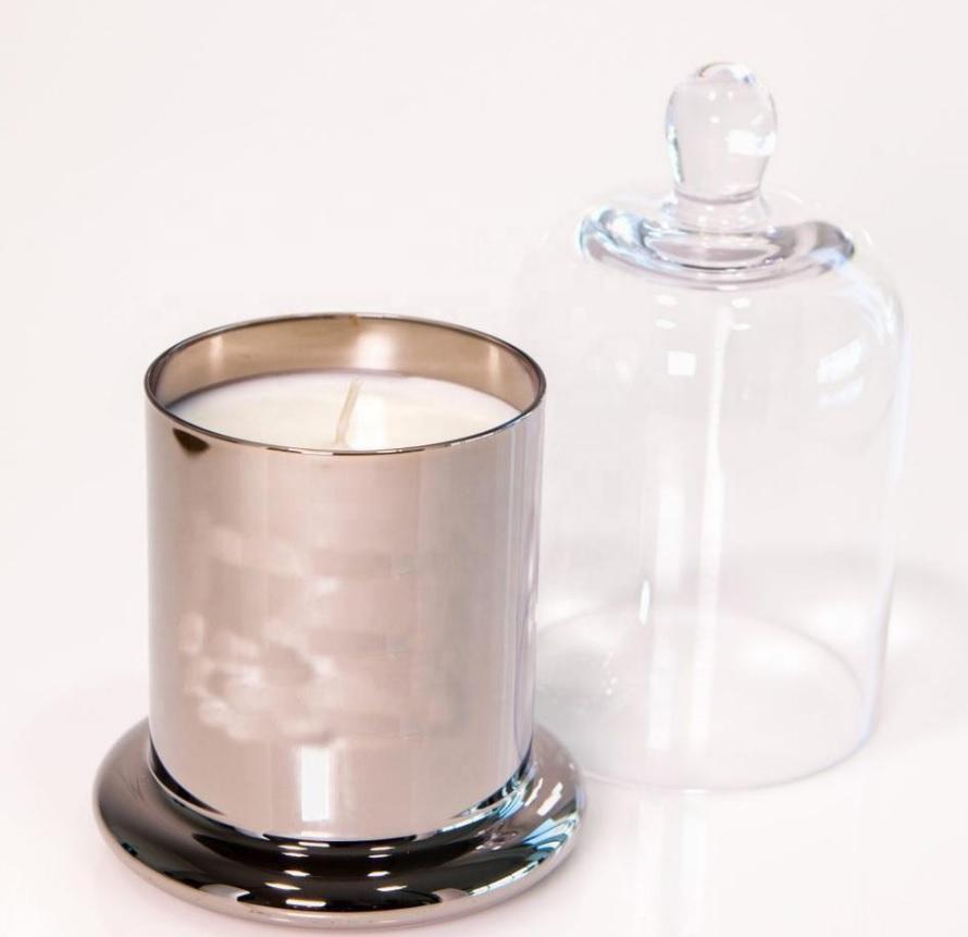 2021 Новый морозное стекло 200 мл свеча стеклянная банка