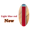 light blue+red