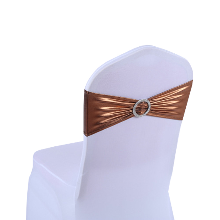 Spandex chair band with buckle spandex chair sash for chair cover