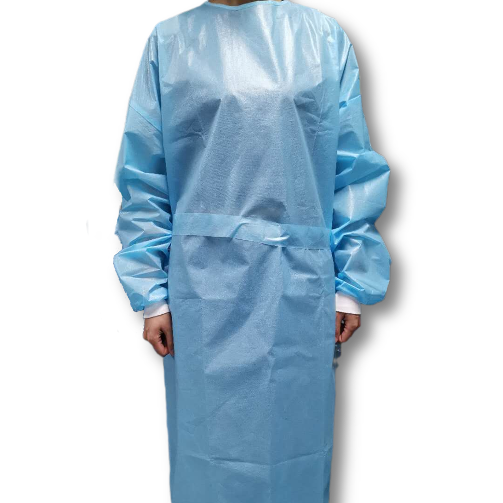 Disposable Non Woven Hospital Uniform Waterproof And Easy-breath SMS clothes - KingCare | KingCare.net
