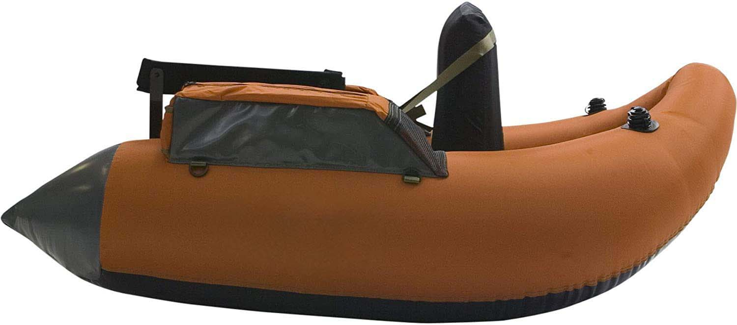 Made in china customized 1.2mm pvc belly boat plastic boat fishing boat for one person