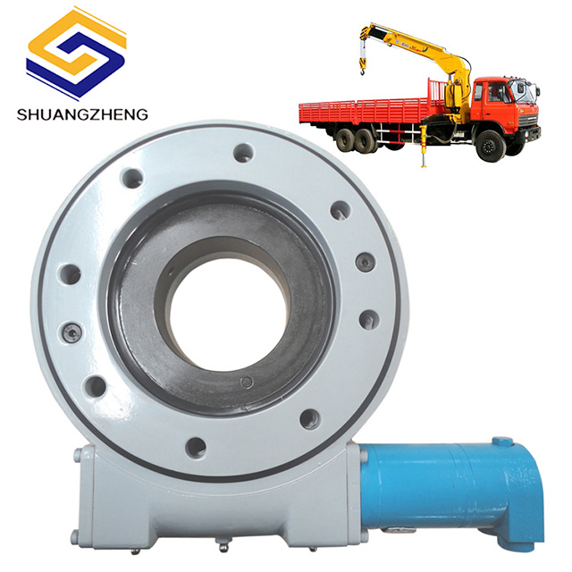 Shuangzheng Single Axis Slewing Drive SE7 With Hydraulic Motor For Cranes