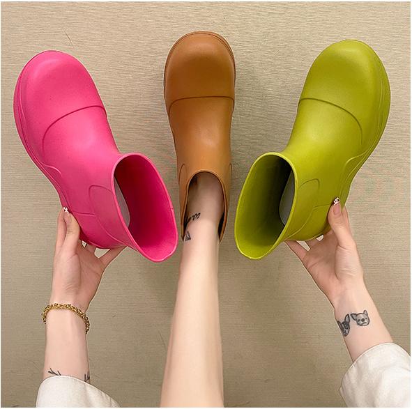 Детская обувь для дождя, Футбольные Детские сапоги, очиститель, женские дизайнерские сапоги для девочек