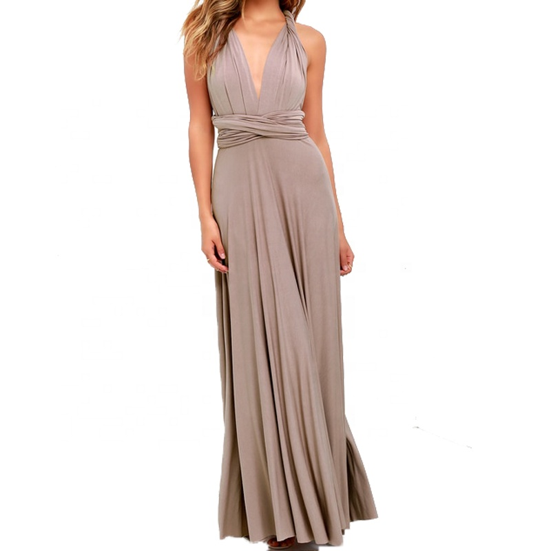 Latest cheap multi-way convertible gorgeous weddings party evening bridesmaid long dresses 2020