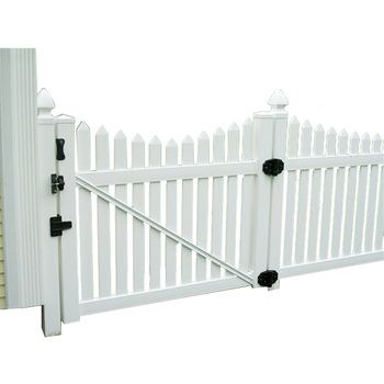 Hot sales house gates design garden vinyl fence gate
