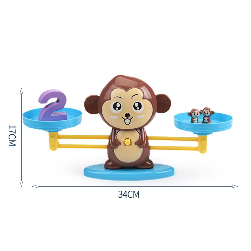 Новая цифровая балансировочная игрушка для животных, математическая обучающая игрушка для малышей, Экологически чистая деревянная игрушка из натурального дерева Oray ASTM,EN71 0,7