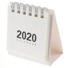 Лидер продаж, 1 шт., милые мини-простые настольные календари с рисунком, мини-календари для самостоятельной сборки, блокноты, планировщик, шк...(Китай)