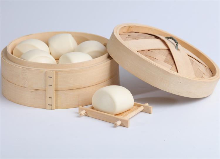 High qulity food supplier Chinese steamed milk bun wheat flour food Hifirst