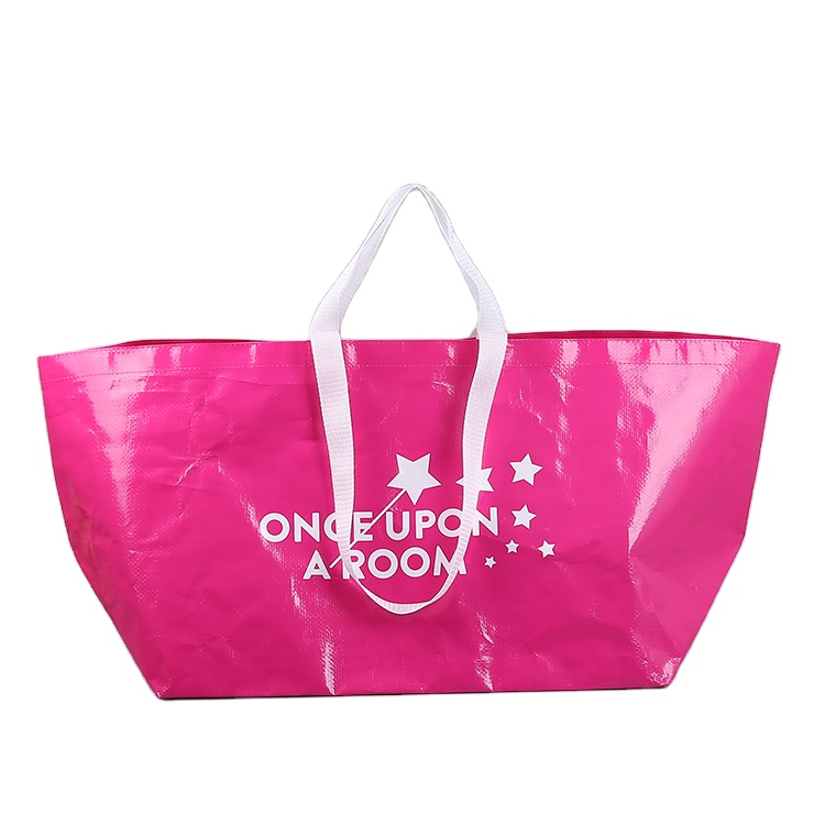 cheap customized printed pp tote shopping bags
