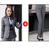 Women Gray suits(blazer+pants)