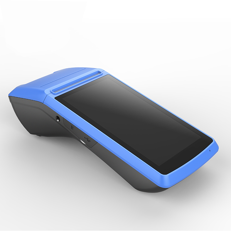 Новое поступление 5,0 дюймовый емкостный сенсорный экран WIFI портативный мобильный чековый терминал Pos