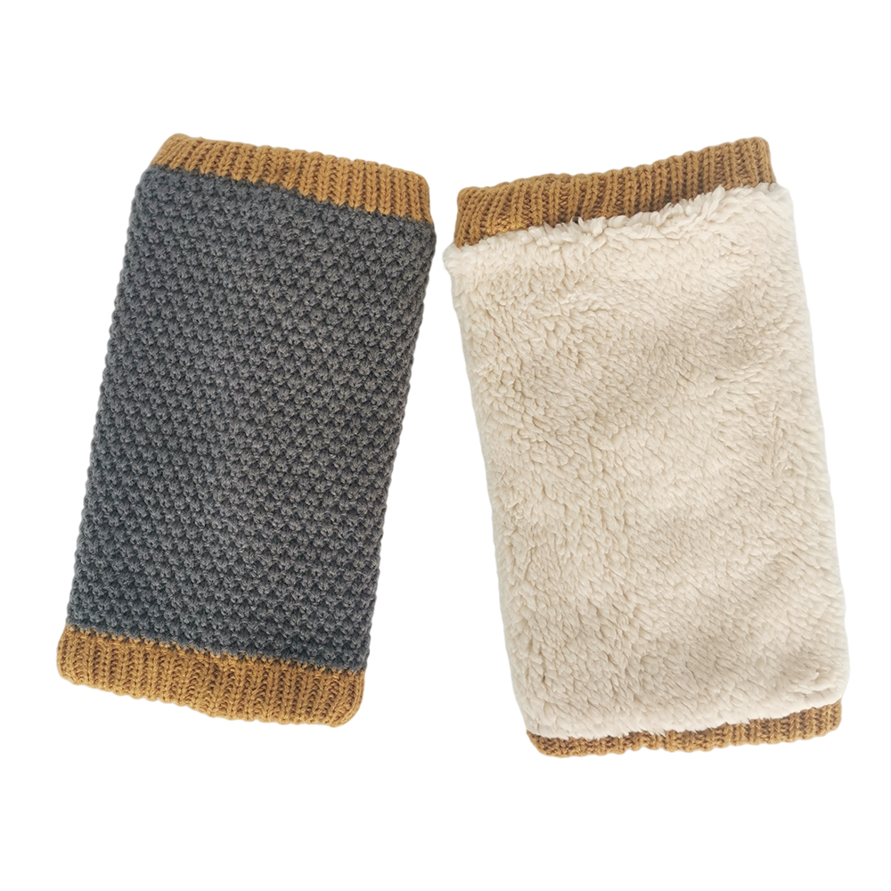 Customized Keep Warm Fashion Warmer Leg Warmers With Buttons